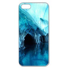 Marble Caves 3 Apple Seamless Iphone 5 Case (clear) by trendistuff