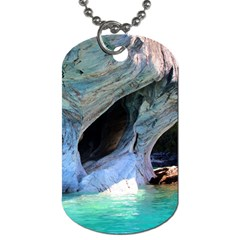 Marble Caves 2 Dog Tag (one Side) by trendistuff