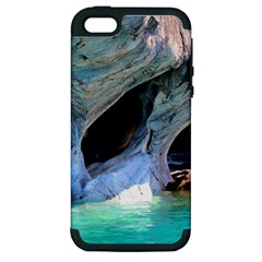 Marble Caves 2 Apple Iphone 5 Hardshell Case (pc+silicone) by trendistuff