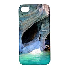 Marble Caves 2 Apple Iphone 4/4s Hardshell Case With Stand by trendistuff