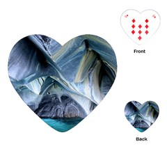 Marble Caves 1 Playing Cards (heart)  by trendistuff