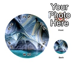 Marble Caves 1 Playing Cards 54 (round)  by trendistuff