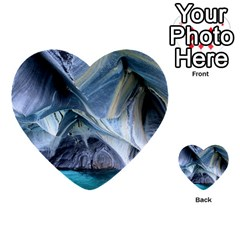 Marble Caves 1 Multi Purpose Cards (heart)
