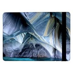 Marble Caves 1 Samsung Galaxy Tab Pro 12 2  Flip Case by trendistuff