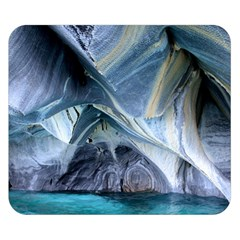 Marble Caves 1 Double Sided Flano Blanket (small)  by trendistuff