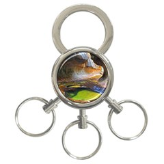 Left Fork Creek 3 Ring Key Chains by trendistuff