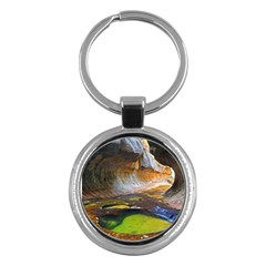 Left Fork Creek Key Chains (round)  by trendistuff
