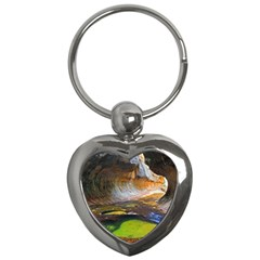 Left Fork Creek Key Chains (heart)  by trendistuff