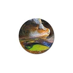 Left Fork Creek Golf Ball Marker (10 Pack) by trendistuff