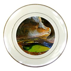 Left Fork Creek Porcelain Plates by trendistuff