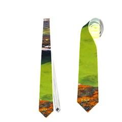 Left Fork Creek Neckties (two Side)  by trendistuff