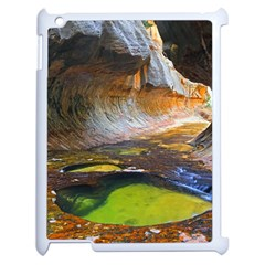 Left Fork Creek Apple Ipad 2 Case (white) by trendistuff