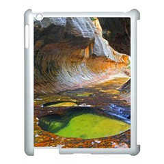 Left Fork Creek Apple Ipad 3/4 Case (white) by trendistuff
