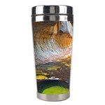 LEFT FORK CREEK Stainless Steel Travel Tumblers Center