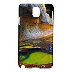 Left Fork Creek Samsung Galaxy Note 3 N9005 Hardshell Case by trendistuff