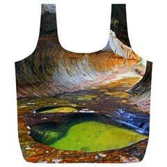 Left Fork Creek Full Print Recycle Bags (l)  by trendistuff