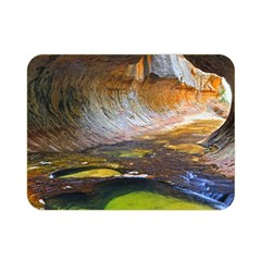Left Fork Creek Double Sided Flano Blanket (mini)  by trendistuff