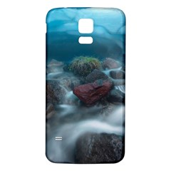 ICELAND CAVE Samsung Galaxy S5 Back Case (White) by trendistuff