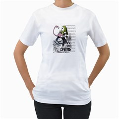 Flamingo Croquet Women s T Shirt (white)