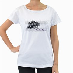 Cheshire Cat Women s Loose Fit T Shirt (white)
