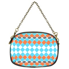 Tribal Pattern Chain Purses (one Side)  by JDDesigns
