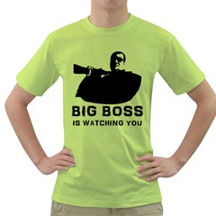 BigBoss Green T-Shirt by RespawnLARPer