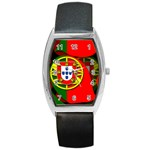 Portugal Barrel Style Metal Watch