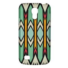 Rhombus And Arrows Patternsamsung Galaxy S4 Mini (gt I9190) Hardshell Case by LalyLauraFLM