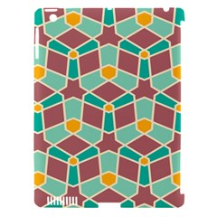 Stars And Other Shapes Patternapple Ipad 3/4 Hardshell Case (compatible With Smart Cover) by LalyLauraFLM