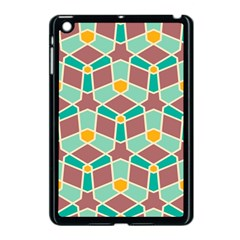 Stars And Other Shapes Patternapple Ipad Mini Case (black) by LalyLauraFLM