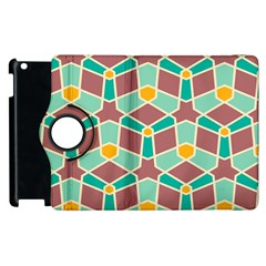 Stars And Other Shapes Pattern			apple Ipad 2 Flip 360 Case by LalyLauraFLM