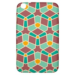 Stars And Other Shapes Patternsamsung Galaxy Tab 3 (8 ) T3100 Hardshell Case by LalyLauraFLM