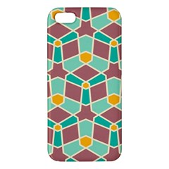 Stars And Other Shapes Patterniphone 5s Premium Hardshell Case by LalyLauraFLM