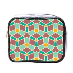 Stars And Other Shapes Patternmini Toiletries Bag (one Side) by LalyLauraFLM