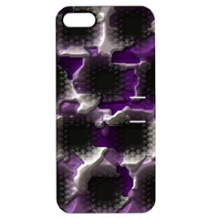 Fading Holes			apple Iphone 5 Hardshell Case With Stand by LalyLauraFLM