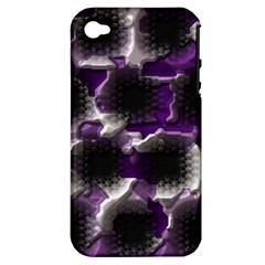 Fading Holesapple Iphone 4/4s Hardshell Case (pc+silicone) by LalyLauraFLM