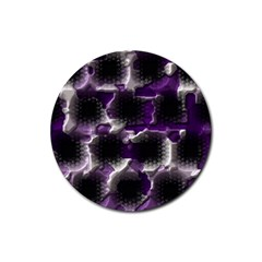 Fading Holesrubber Coaster (round) by LalyLauraFLM