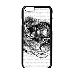 Cheshire Cat Apple Iphone 6/6s Black Enamel Case