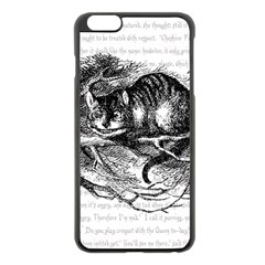 Cheshire Cat Apple Iphone 6 Plus/6s Plus Black Enamel Case by waywardmuse