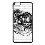 Cheshire Cat Apple iPhone 6 Plus/6S Plus Black Enamel Case