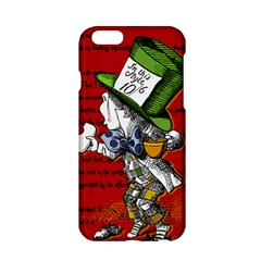 The Mad Hatter Apple Iphone 6/6s Hardshell Case by waywardmuse