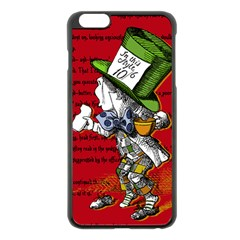 The Mad Hatter Apple Iphone 6 Plus/6s Plus Black Enamel Case by waywardmuse