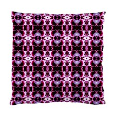 Purple White Flower Abstract Pattern Standard Cushion Case (one Side)  by Costasonlineshop