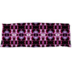 Purple White Flower Abstract Pattern Body Pillow Cases (dakimakura)
