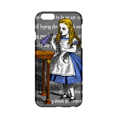 Alice In Wonderland Apple Iphone 6/6s Hardshell Case by waywardmuse