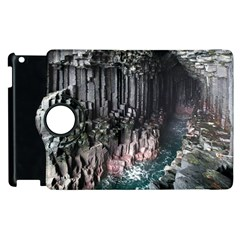 Fingals Cave Apple Ipad 3/4 Flip 360 Case by trendistuff