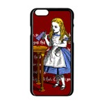 Alice In Wonderland Apple iPhone 6/6S Black Enamel Case