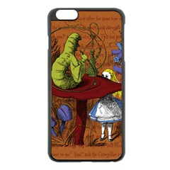 Alice In Wonderland Apple Iphone 6 Plus/6s Plus Black Enamel Case