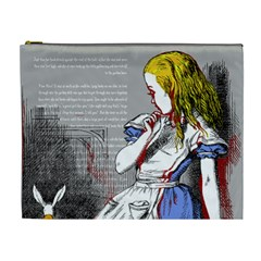Alice In Wonderland Cosmetic Bag (xl)