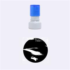 Chapada Diamantina 4 Rubber Round Stamps (small) by trendistuff